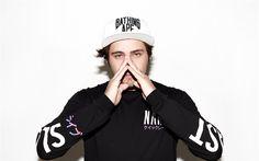 Download wallpapers DJ Jauz, American DJ, 4k, portrait, Sam Vogel, bass house, dubstep