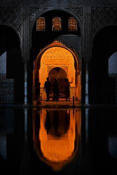 Sala de Embajadores (Torre de Comares), La Alhambra. Granada. Spain