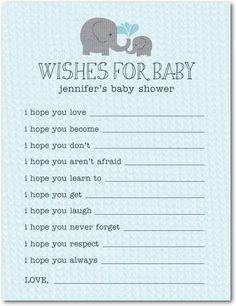 Elephant Applique: Slate - Baby Shower Games in Slate | Allie Munroe