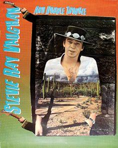 Stevie Ray Vaughan - Texas Flood - Promo Poster