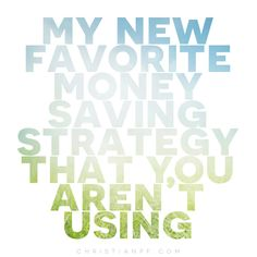 I just love finding new ways to save money. It is kind of an addiction really.) And after spending years being a guinea pig with a lot of money-saving tips, this is one of my new favorites that is very EASY and yields big savings. Ways To Save Money, Money Tips, Money Saving Tips, Money Hacks, Saving Ideas, Ing Direct, Financial Tips, Financial Planning, Frugal Living Tips