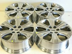 "20"" Inch Ford F150 Expedition Set Of 4 04-2019 Polished Factory Oem Wheels Rims · $795.00 20 Inch Rims, Oem Wheels, Chevy Silverado 1500, Black Rims, Ford, Chevrolet Silverado 1500"