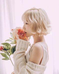 Girls' Generation Member Taeyeon Poses for KWAVE Magazine