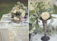 Beautiful Table Stting and Flowers!!!