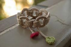 Sidney Artesanato: Elos...fazem uma linda pulseira