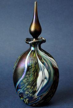 Richard Golding Station Glass Dark Purple Perfume Bottle http://www.bwthornton.co.uk/isle-of-wight-richard-golding-bath-aqua-glass.php