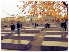 Berlino. Holocaust-Mahnmal. Opera dell'architetto americano Peter Eisenman.