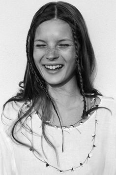 Young Kate Moss had GREAT freckles