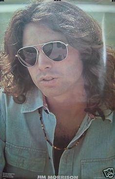 1970 Jim Morrison - those sunglasses were so popular
