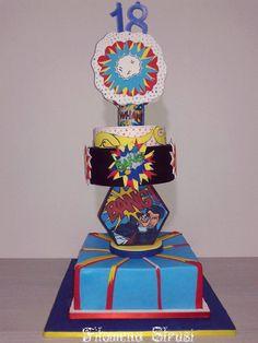 Lichtenstein+Cake++-+Cake+by+Filomena