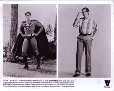 Gerard Christopher Superboy publicity photo - SUPERBOY THEATER: YOUNG SUPERMAN ON FILM AND TV