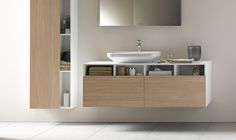 Duravit - Bathroom design series: Washbowls - surface mounted basins from Duravit.