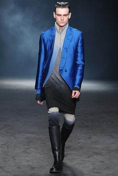 Ann Demeulemeester Fall 2012 Menswear | Fashion Collections