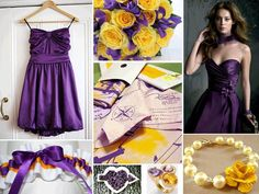A Lakers-inspired wedding can still be chic and girly!