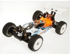 """Save some cash! Serpent 811-Be """"Cobra Sport"""" 1/8 Off Road Electric Buggy Kit has been slimmed down to reach racers on a budget."""