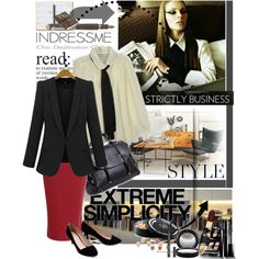 Business with Indressme.com, created by simay on Polyvore