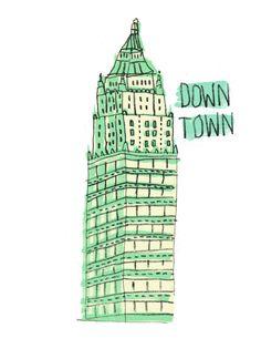Illustration - Down Town