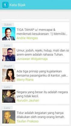 Motivasee – Kumpulan kata bijak pilihan berbahasa Indonesia http://www.aplikanologi.com/?p=30362