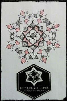 Honky Tonk tatuajes, mandala by Mario Franco