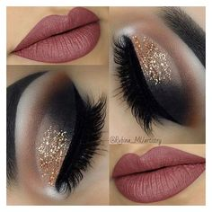 21 Insanely Beautiful Makeup Ideas for Prom ❤ liked on Polyvore featuring beauty products, beauty and makeup