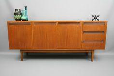 MID Century Wrightbilt Long Sideboard Buffet Teak Cabinet Retro Vintage Parker Danish era, VIC | eBay 360 Modern Furniture