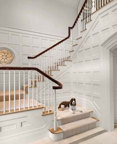 staircase moldings!