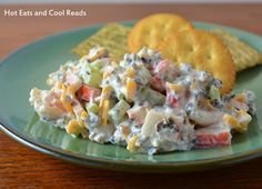 Shrimp and Crab Dip from Hot Eats and Cool Reads. This is such an easy and tasty appetizer!