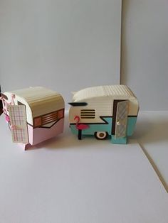 Cardboard campers!