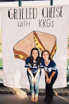 Grilled Cheese with KKGs philanthropy Kappa Kappa Gamma Furman