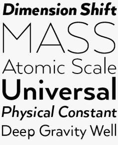 Arquitecta font sample