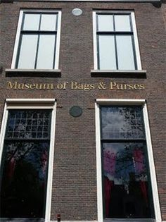 Yes, you're reading that right... there IS a museum of Bags and Purses!