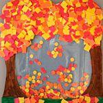 Fall themed crafts preschool