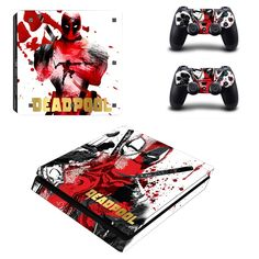 Ps4 Slim Sticker Console Decal Playstation 4 Controller Vinyl Skin Man Woman Sale Overall Discount 50-70% Video Games & Consoles