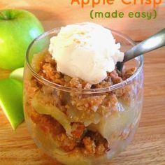 Its Fall, which means its time for Apple Crisp! Forks N Flip Flops - food, projects and life at the beach