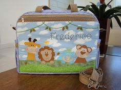 Cute Diaper Bags, Baby Backpack, Mini Me, Baby Quilts, Embroidery Stitches, Lunch Box, Backpacks, Quilting, Baby Diaper Bags