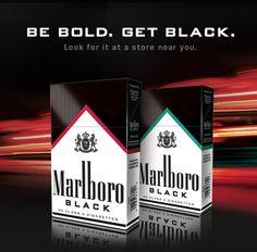 Marlboro Black Cigarettes