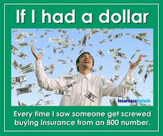 It'd be harsh if it's wasn't so true... ~ No one can give better service than a local agent! www.InsuretheLake.com