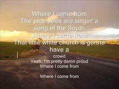 "*""Where I Come From""~~Montgomery Gentry~Hope you enjoy singin' along with Montgomery"
