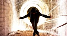 Steel Wool Light Painting in Long Exposure Photography