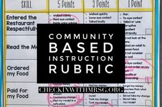 Take data on your community outings using a community based instruction rubric. Learn four ways using a rubric will positively impact your community based instruction outings. Life Skills Classroom, Teaching Social Skills, Classroom Ideas, Paragraph Writing, Writing Rubrics, Opinion Writing, Persuasive Writing, Preschool Special Education, Physical Education