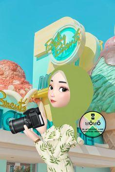 Islamic Cartoon, Girl Emoji, Anime Muslim, Hijab Cartoon, Muslim Girls, Cartoon Wallpaper, Islamic Art, Anime Girls, Have Fun