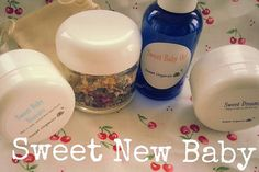 Sweet New Baby Organic by SweetOrganicsVT on Etsy - Gift idea for a new baby