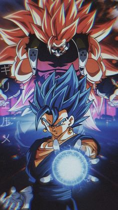 Super Kamba & Vegetto Blue (SDBH)
