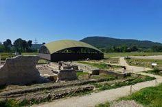 Ruinas de la Ciudad Romana de Complutum en los alrededores de Alcalá de Henares