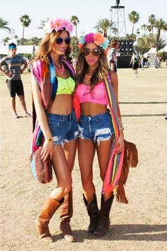 Neon + Flowers Festival Looks, Rave Festival, Festival Wear, Festival Fashion, Coachella Festival, Festival Style, Edm Outfits, Cool Outfits, Electric Daisy Carnival