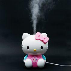 Hello Kitty Ultrasonic Humidifier Pink SANRIO JAPAN