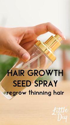 Homemade Hair Treatments, Diy Hair Treatment, Natural Hair Treatments, Hair Growth Treatment, Hair Mask For Growth, Hair Remedies For Growth, Diy Hair Growth Serum, Diy Hair Spray, Diy Hair Oil