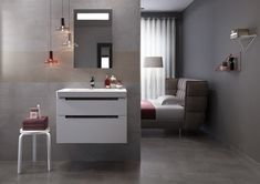 Faience Carioca. Sol assorti. Dimensions : 20 x 60 cm. Existe en 25 x 40 cm. 22, 90 euros la pièce. Décocéram. Style Cottage, Bathroom Lighting, Vanity, Dimensions, Mirror, Bedroom, Furniture, Home Decor, Baseboards
