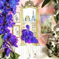 des-dessins-de-mode-avec-des-fleurs-et-des-vegetaux-par-Meredith-Wing-7