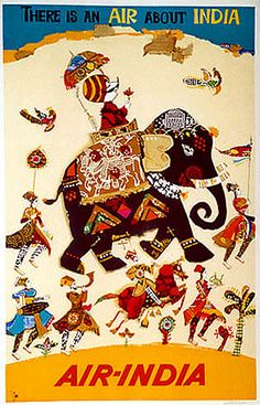 More of air india vintage india poster, air india, jazz art, vintage travel Vintage India, Pub Vintage, Air India, India India, India Poster, Travel Ads, Travel Images, Taj Mahal, Visit India
